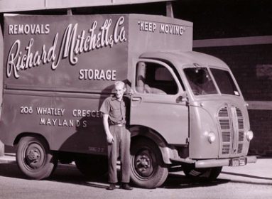 historical richard mitchell moving van