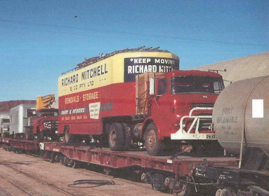 richard mitchell truck old